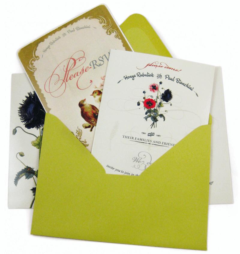 Wedding Invitation Package Elinarorg